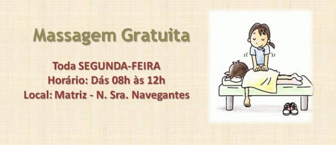 Massagem Gratuita